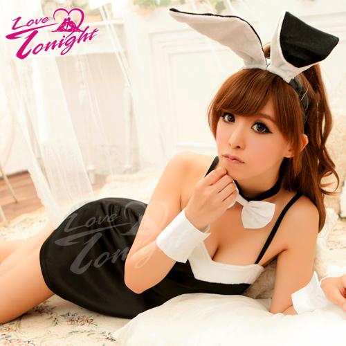 兔女郎(愛在今夜)T9182-黑-F