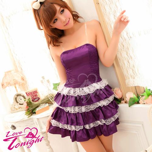 派對服(愛在今夜)T9207-紫-F