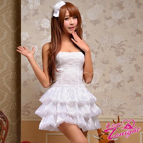 公主服(愛在今夜)T9219-白-F