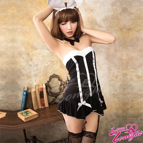 兔女郎(愛在今夜)T9228-黑-F