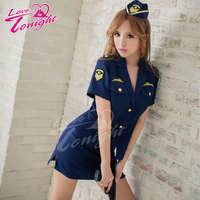 警察服(愛在今夜)T9233-深藍-F