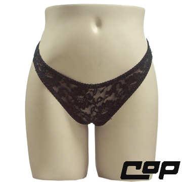 女內褲(COP)F407黑-F-三角