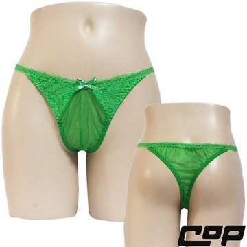 女內褲(COP)F650綠-F-丁字