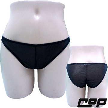 女內褲(COP)F673黑-F-開襠