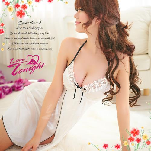 睡衣(愛在今夜)T1165-白-F