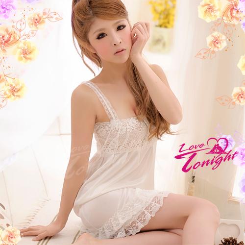 睡衣(愛在今夜)T1168-白-F