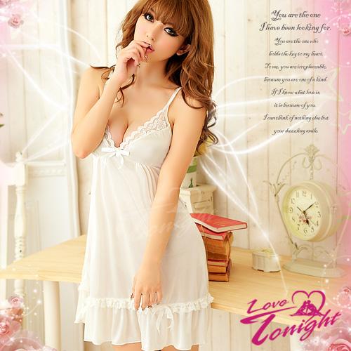 睡衣(愛在今夜)T1171-白-F