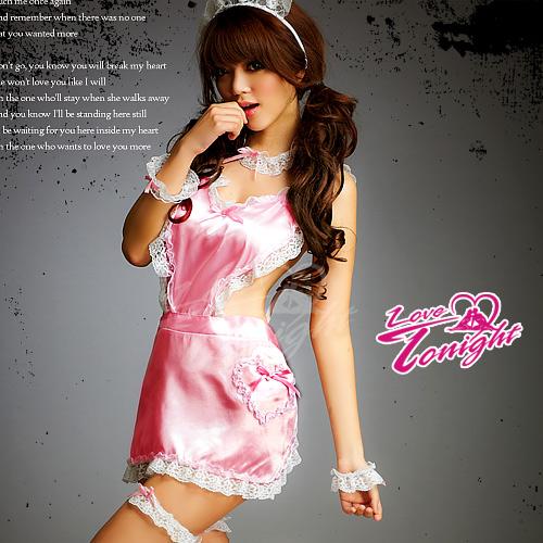 女僕裝(愛在今夜)T9213-粉-F