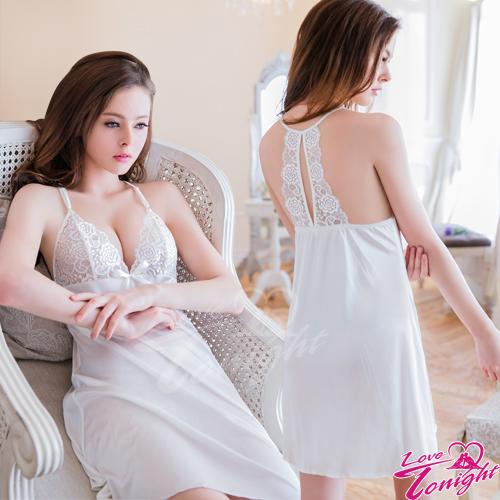 睡衣T1462-白-L