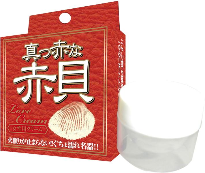 【激情解放】真紅貝殼 女用乳霜