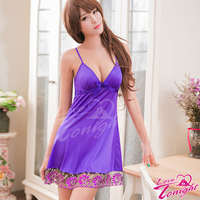 睡衣T1467-紫-F