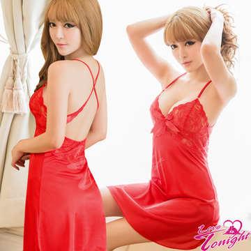 睡衣T1473-紅-F