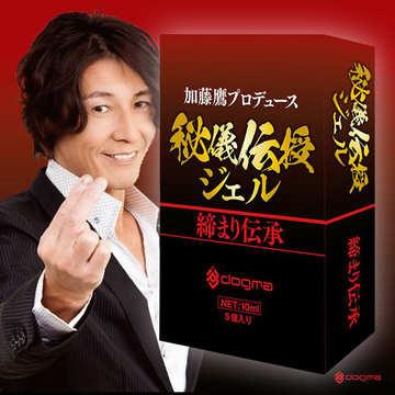 【敏感潮吹】加藤鷹監製 秘儀傳授 潤滑凝膠 10ml 5入