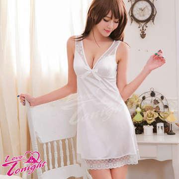 睡衣T1487-白-F