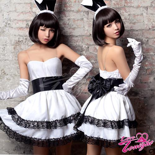 兔女郎T9289-白-F