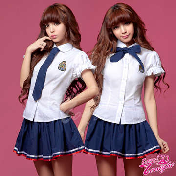 學生服(愛在今夜)T9291-白-F