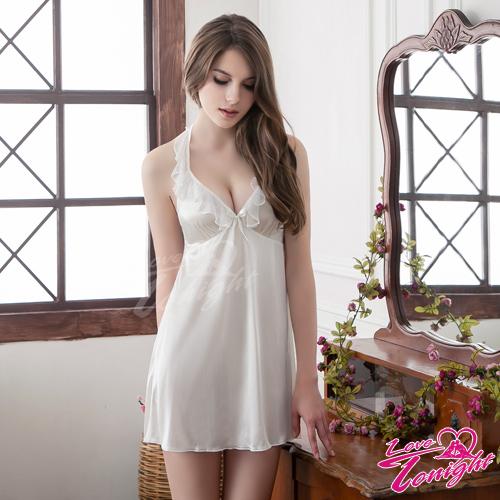 睡衣(愛在今夜)T1493-白-L