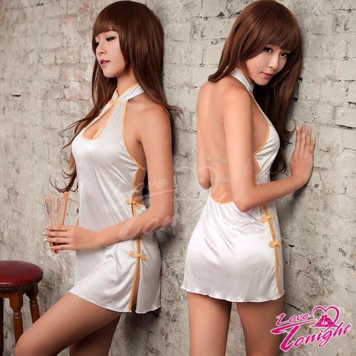 旗袍(愛在今夜)T9292-白-F