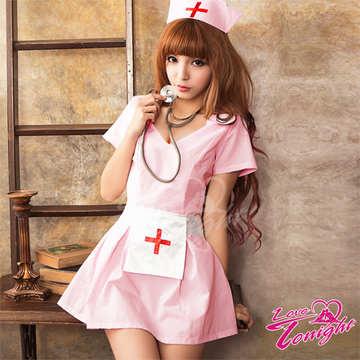 護士服(愛在今夜)T9295-粉-F