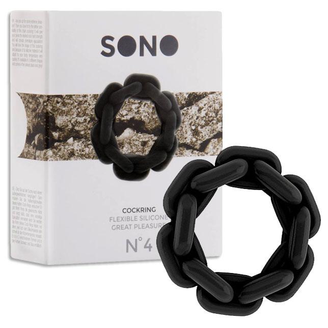 Sono矽膠造型套環N°4-黑