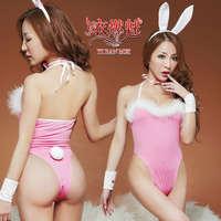 《YIRAN MEI》愛的呼喚!四件式性感兔女郎裝﹝粉﹞