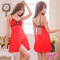 睡衣(愛在今夜)T1499-紅-F