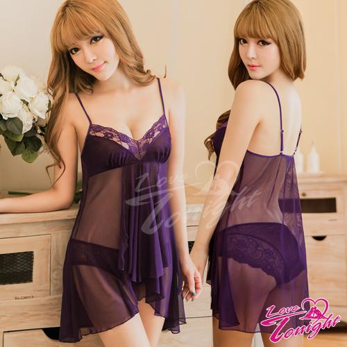 睡衣(愛在今夜)T1501-紫-F