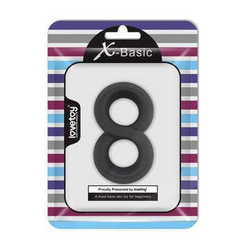 X-Basic享受性愛矽膠套環-B