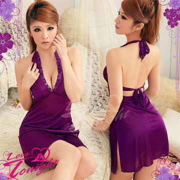 睡衣(愛在今夜)T1247-紫-F
