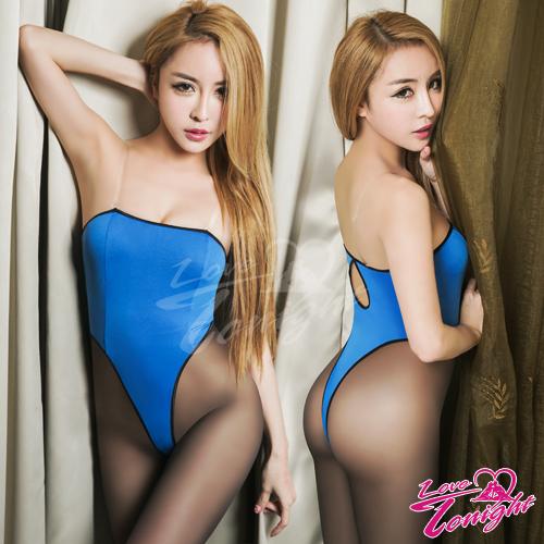 連身衣(愛在今夜)T1507-藍-F