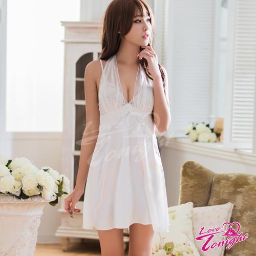睡衣(愛在今夜)T1510-白-F