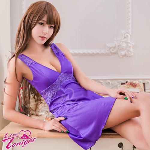 睡衣(愛在今夜)T1519-紫-F