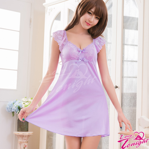 睡衣(愛在今夜)T1524-紫-F