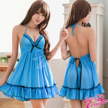 睡衣(愛在今夜)T1526-藍-F