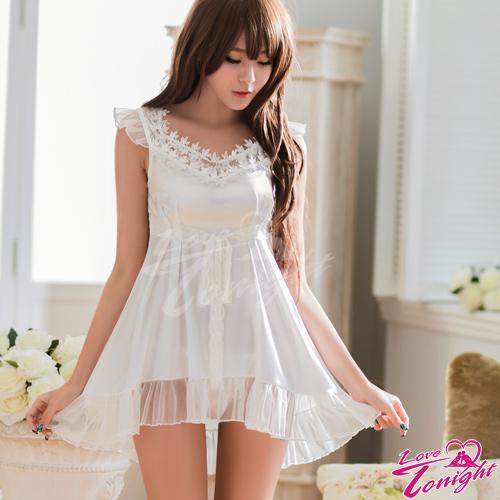 睡衣(愛在今夜)T1534-白-F