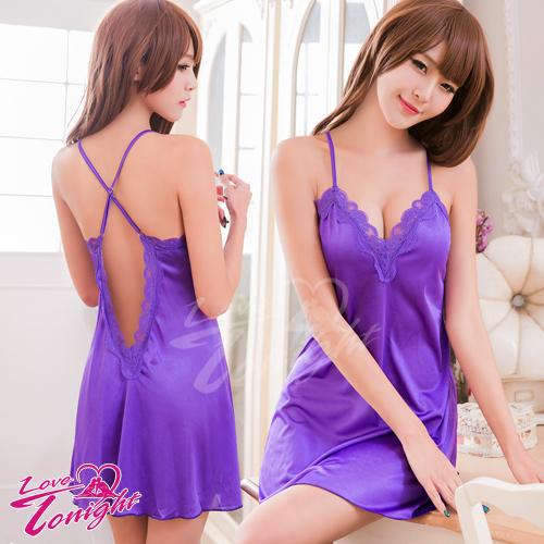 睡衣(愛在今夜)T1537-紫-F