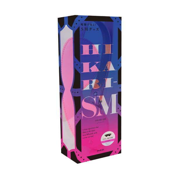 HIKARI|SM 夜光 粉色 眼罩