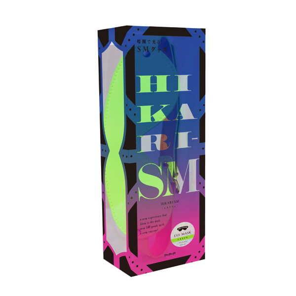 HIKARI|SM 夜光 綠色 眼罩