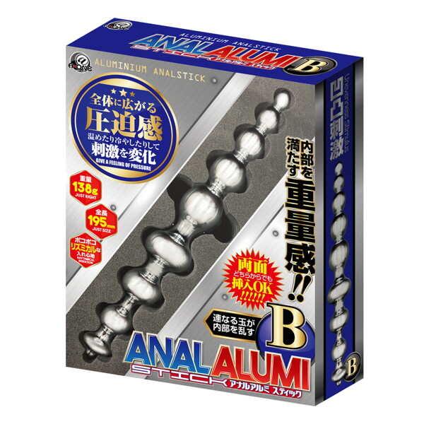 鋁合金肛門塞 B