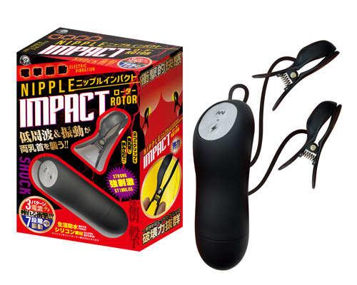 Nipple Impact 電擊振動乳頭衝擊夾