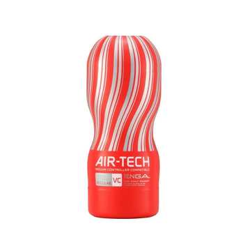 TENGA AIR-TECH 重複性真空杯飛機杯 控制器兼容版_VC紅