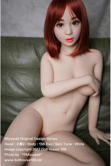 【小愛2】156cm 真人娃娃 超靈活關節硅膠TPE金屬骨架
