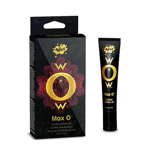 美國 Wet wOw® Max O 陰蒂激熱凝露 15ml