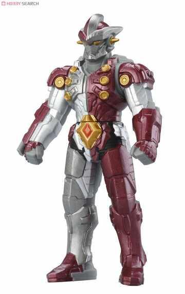 超人力霸王500系列軟膠-暗殺機器人強9