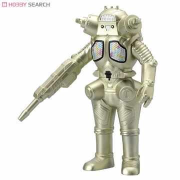 超人力霸王怪獸軟膠-宇宙機器人喬王(金古橋特製型)