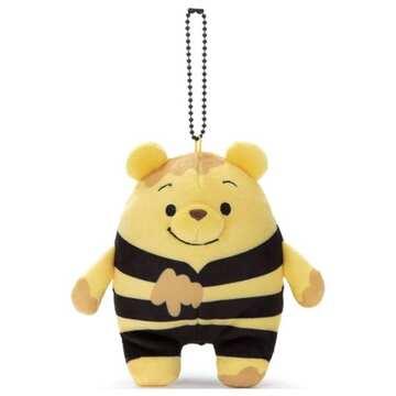 takaratomy 麻吉好朋友吊飾-蜂蜜維尼