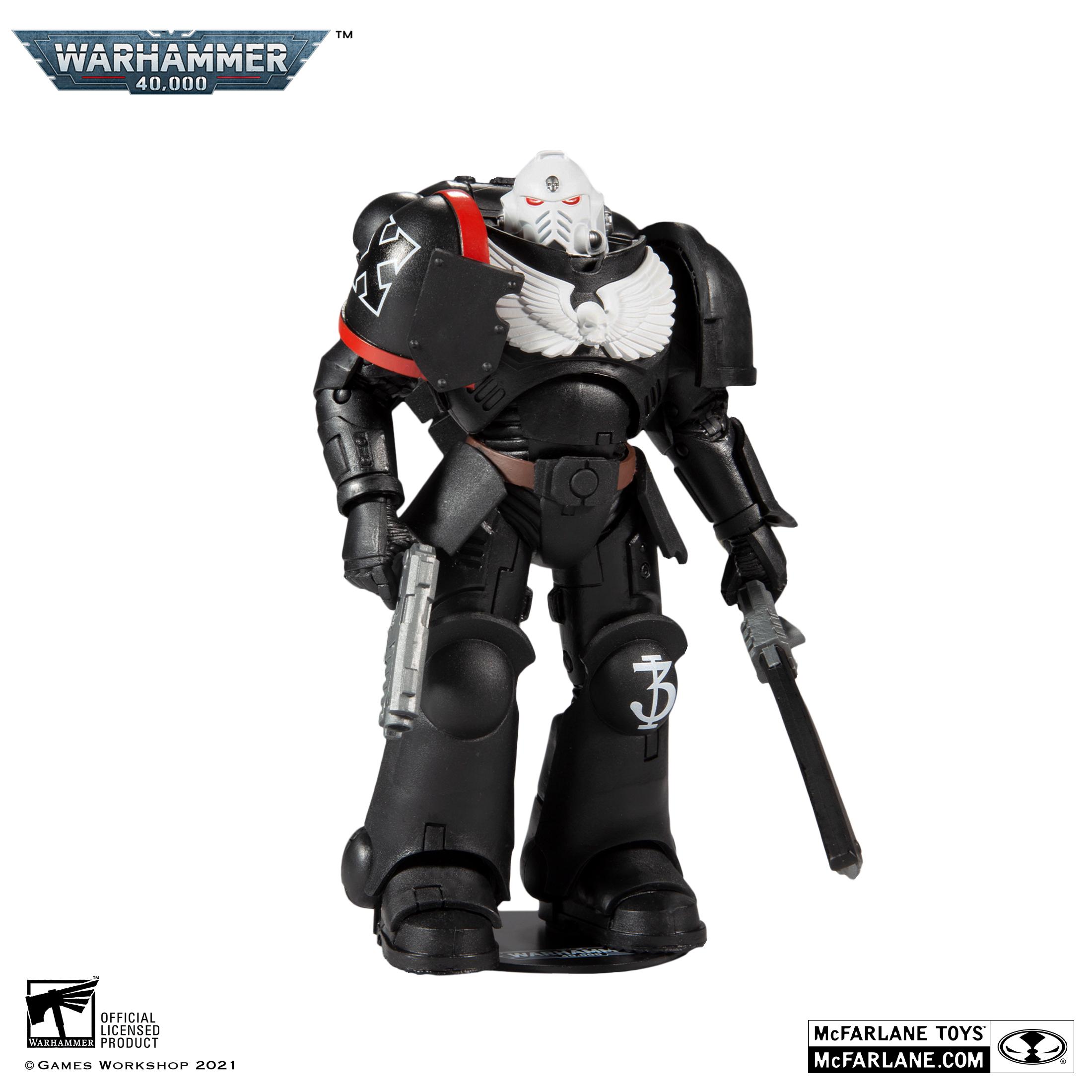 McFarlane Toys|麥法蘭 戰鎚40000 7吋 烏鴉守衛資深士官