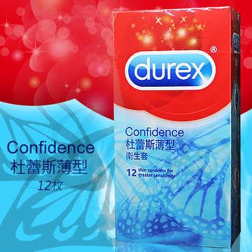 英國Durex-薄型保險套/衛生套 12片裝(特)