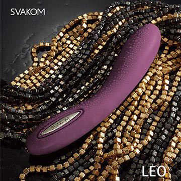 美國SVAKOM Leo 裏奧 智能模式 6段變頻 長效功能 大型G點按摩棒 紫羅蘭